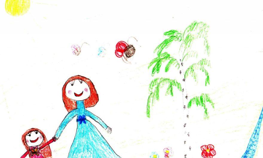 рисунок к дню матери